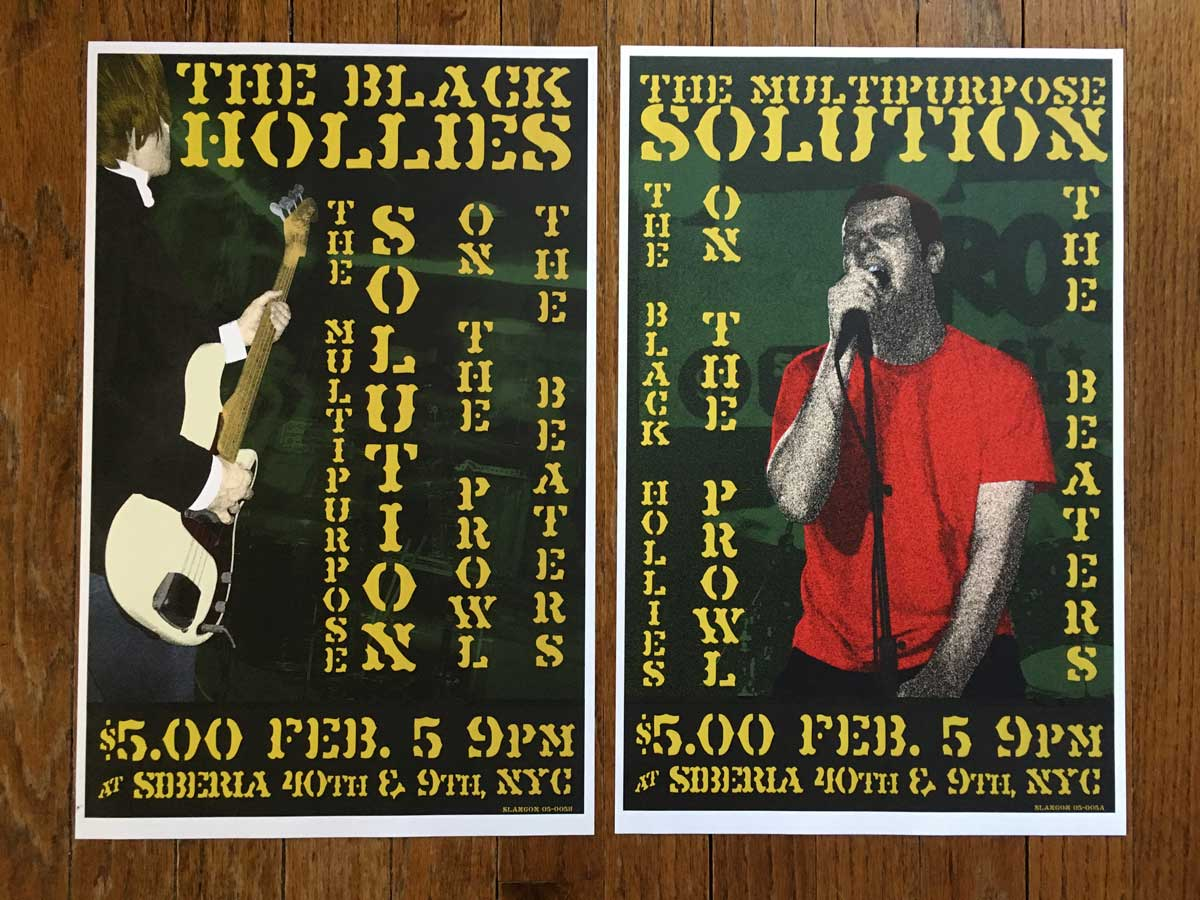 The Black Hollies @ Siberia