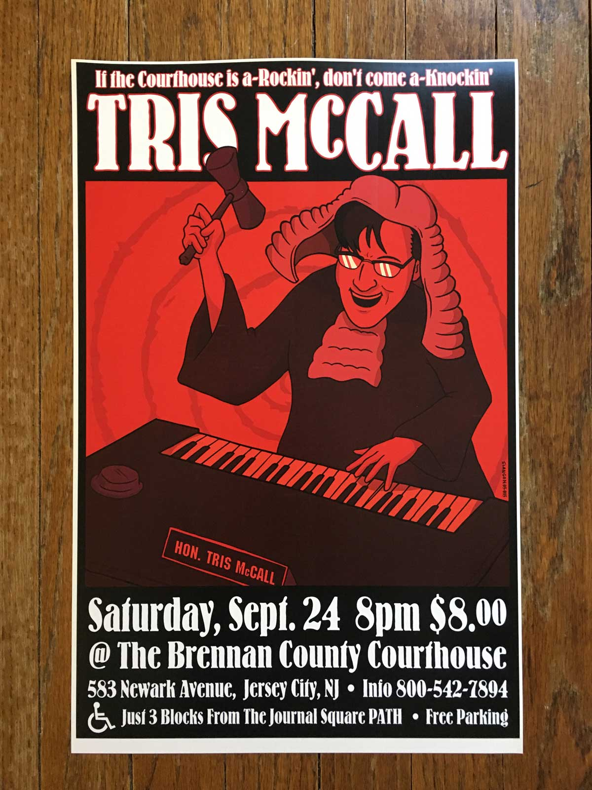Tris McCall @ The Brennan County Courthouse