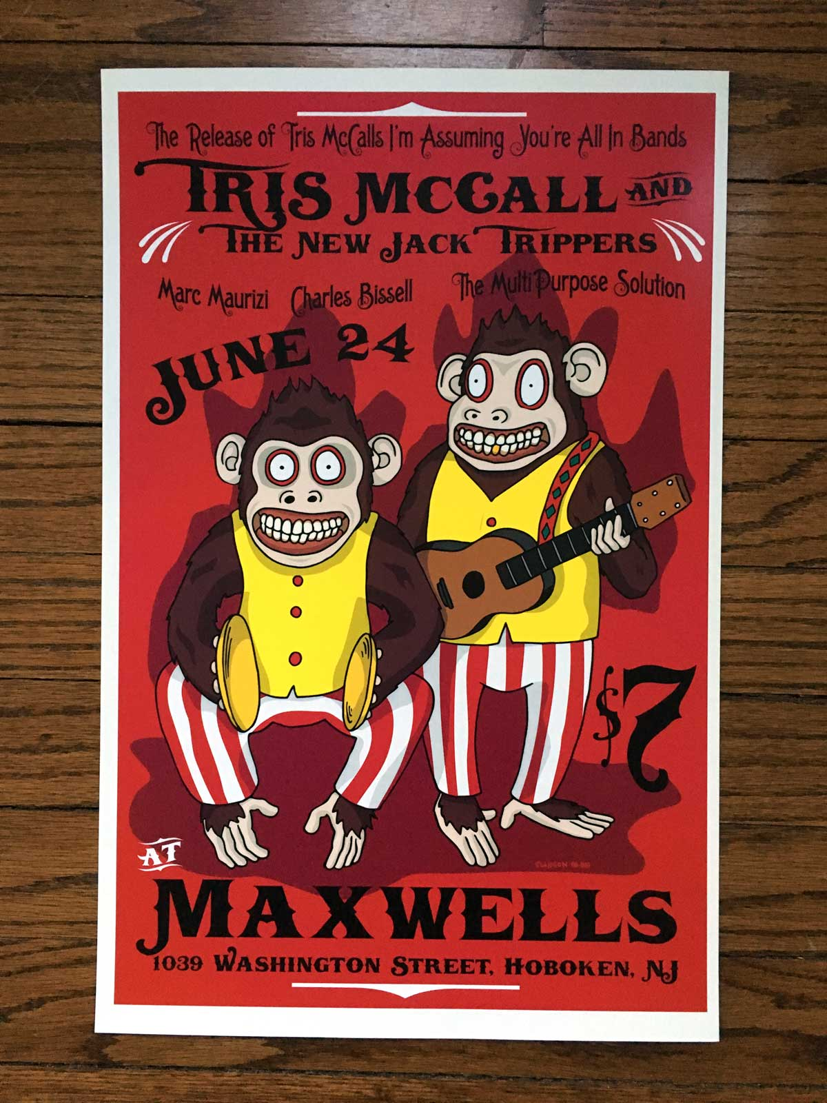 Tris McCall and the New Jack Trippers @ Maxwell's