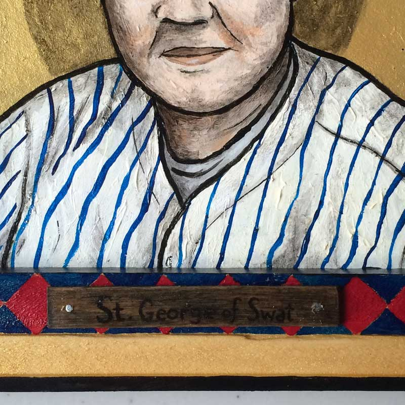 Sinners & Saints of the American Myth(os) Babe Ruth Detail