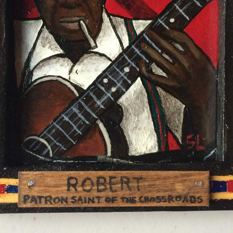 Sinners & Saints of the American Myth(os) Robert Johnson Detail